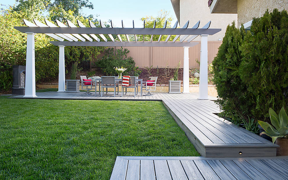 Sacramento Patio Covers - 3D Benchmark Builders Custom Shade Structures, Wood Patio Covers