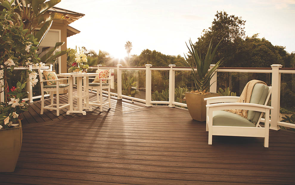 Sacramento Valley Wood And Composite Decking Redwood
